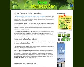 Green Monterey Bay