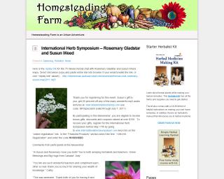 Homesteading Farm